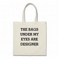 bags under eyes